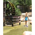 """""""Water Wheel - Girl At The Watering Hole"""" by LauriJon"""