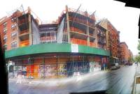 Good old fashioned blended and treated panoroma  o