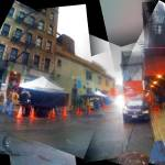 """Early morning movie shoot on Norfolk Street, by De"" by p0ps"