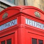 """""""British Telephone Box"""" by SueLeonard"""