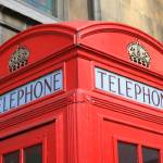 """British Telephone Box"" by SueLeonard"