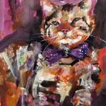 """Diva - Feline with Style - Cats - Feline"" by GinetteCallaway"