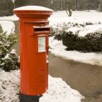 """Postbox set in the snow"" by SueLeonard"