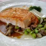 """""""Salmon Meal"""" by SueLeonard"""
