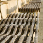 """Rippled bench seats"" by SueLeonard"