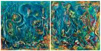 The Deep (Diptych) - Format B
