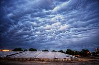Mammatus Clouds Over Courtland