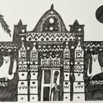 """Old Nubian House At Wadi Halfa"" by suzannehilal"
