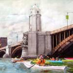 """Beside the Longfellow Bridge"" by VikkiKing"