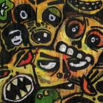 """[mb] Scary Faces"" by merrickbrown"