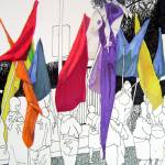 """Parade Flag Migration"" by VikkiKing"