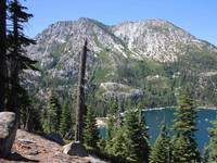 Emerald Bay with Mountain