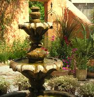 Fountain and Garden wall