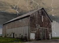 Stormy Day on th Farm