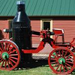 """""""side view old fire wagon"""" by lwoodburn"""