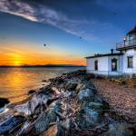 """Discovery Park Lighthouse"" by Surrealize"