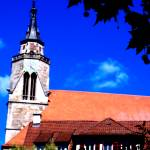 """biggest _  Church : Stiftskirche"" by eagle1effi"
