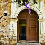 """La Aduana Catholic Church"" by johncorney"