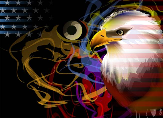 Conceptual hawk artwork for sale on fine art prints for Alex cherry eagles become wall mural