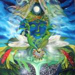 """Earth Enlightenment Entity"" by Jane_Evershed"