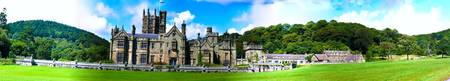 Margam Castle Panorama