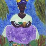"""St. Lucia Caribbean Woman"" by magnoliadorn"