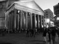 Hustle and Bussle of the Pantheon - Rome 07