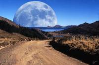 Road To Lake Titicaca - Moon