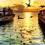 """Golden Bird Dance"" by Surrealize"