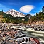 """""""Rainier River"""" by Surrealize"""