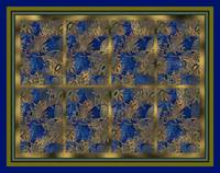 Blue Willow Panel 3