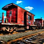 """Red Caboose"" by Surrealize"