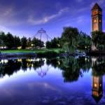 """Riverfront Reflection"" by Surrealize"