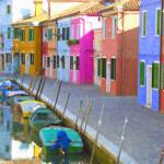 """Burano district, Venice, Italy"" by rdwittle"