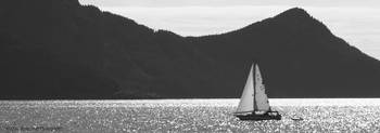 Sailboat in Resurrection Bay