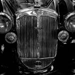 """Car front grill (Black and white)"" by jara"