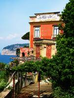 Sorrento Italy with sea view