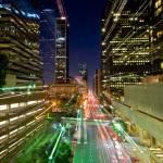 """""""L.A. city skyline a la zoom"""" by MBandy"""