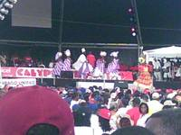 Band stand at 2006 Carnival