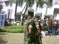 Armed Police at Trinidad Carnival