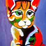 """""""cat"""" by psychebabel"""