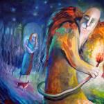 """ANGELS OF ZODIAC. LEO THE LION"" by nesis"