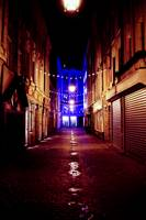 The lit streets of Lille