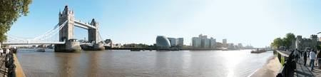 Panorama of the Thames