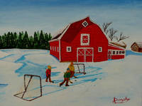 Barnyard Hockey