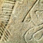 """Brandsbutt Pictish Stone"" by Longlinestudio"