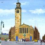 """Caledonia Road Church"" by Longlinestudio"