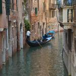"""Gondola in Venice"" by gfairbairn"