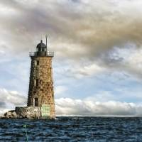 WhaleBack Lighthouse Art Prints & Posters by Maria OBrien