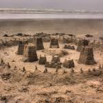 """0065 Sand Castle On Long Beach"" by vincentlouis"